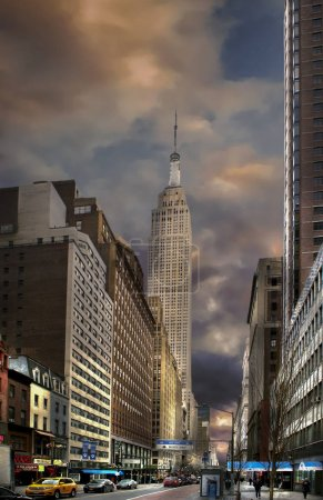 Photo for Empire State Building, Manhattan, New York, USA. - Royalty Free Image