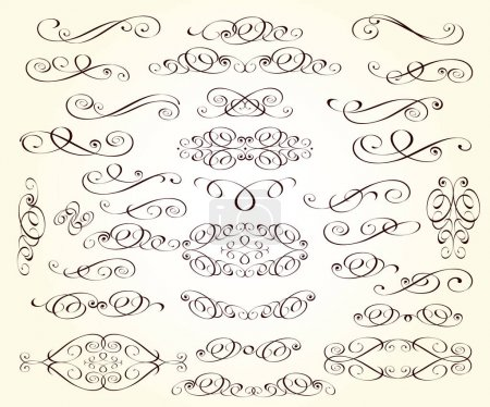 Illustration for Set of design elements for your projects. - Royalty Free Image
