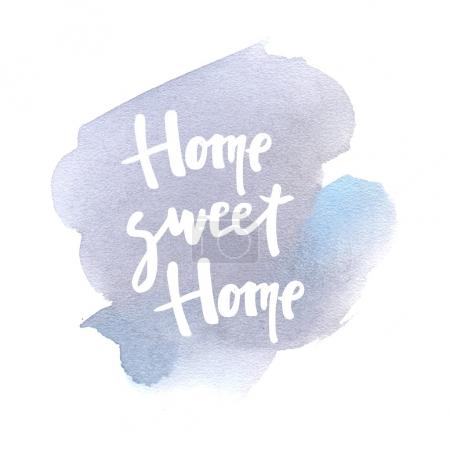 Photo for Home sweet home lettering - Royalty Free Image