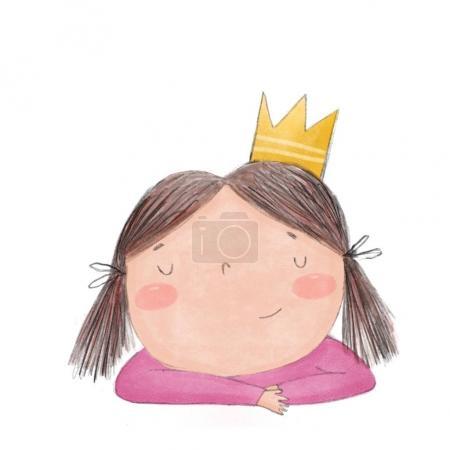 Princess cute illustration