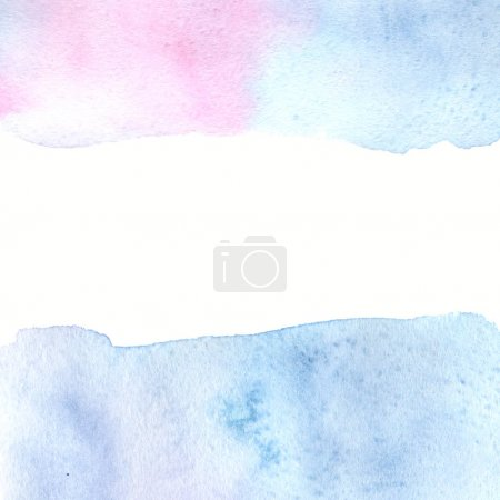 Photo for Abstract watercolor background illustration - Royalty Free Image