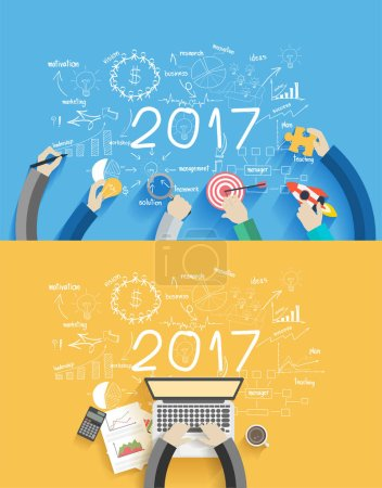 2017 new year business success