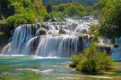 nature flora, waterfall water flow