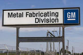 Marion - Circa April 2017: General Motors Metal Fabricating Division. Founded in 1956 as Fisher Body, the plant is now part of GM's Manufacturing Stamping organization I