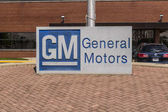 Marion - Circa April 2017: General Motors Logo and Signage at the Metal Fabricating Division. GM opened this plant in 1956 III