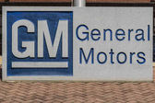 Marion - Circa April 2017: General Motors Logo and