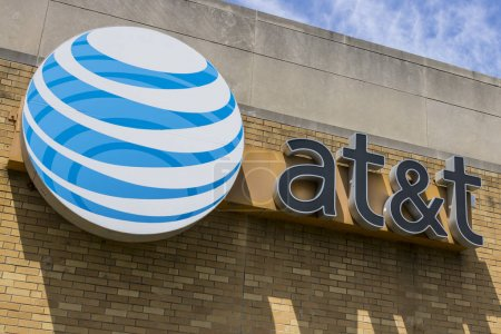 Indianapolis - Circa May 2017: AT&T Central Office. AT&T now offers IPTV, VoIP, Cell Phones and DirecTV XVII
