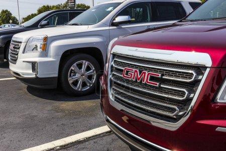 Photo pour Kokomo - Circa septembre 2017: Concessionnaire Gmc et Buick camion et vus. Buick et GMC sont des divisions de Gm V - image libre de droit