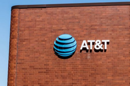 Indianapolis - Circa March 2018: Downtown AT&T Wire Center. AT&T now offers IPTV, VoIP, Cell Phones and DirecTV VIII