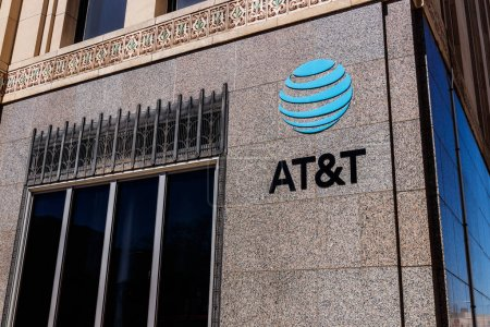 Dayton - Circa April 2018: AT&T downtown office. AT&T now offers IPTV, VoIP, Cell Phones and DirecTV XII