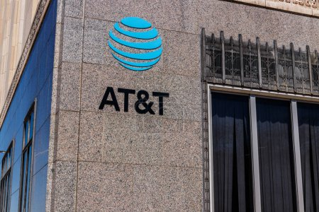 Dayton - Circa April 2018: AT&T downtown office. AT&T now offers IPTV, VoIP, Cell Phones and DirecTV XI