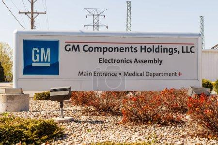 Photo pour Kokomo - Circa mai 2018: Gm composants Holdings. GMCH est un fournisseur de premier plan électronique fabrication services j'ai - image libre de droit