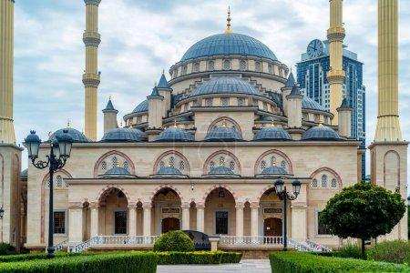 Akhmad Kadyrov Mosque in Grozny, Chechnya, Russia