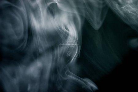 Foto de Fondo abstracto con formas gráficas. color y humo - Imagen libre de derechos