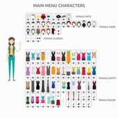 Set of vector character illustration use for human profession business marketing and much moreThe set can be used for several purposes like: websites print templates presentation templates and promotional materials