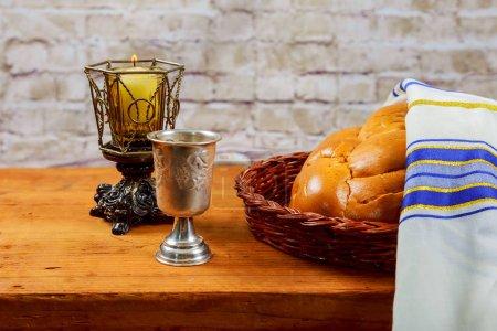 Shabbat Shalom Traditional Jewish Sabbath ritual