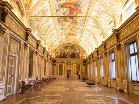 Mantova, Italy - January 8, 2016: Palazzo Ducale i...