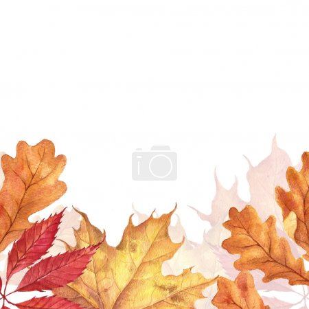 Background with red orange brown
