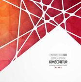 Abstract geometric background with polygons Info graphics composition with geometric shapes