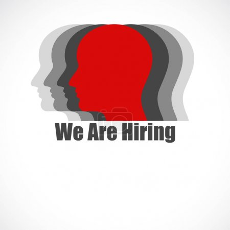 We Are Hiring background for your hiring posters