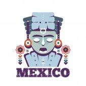 Mexico Mayan mask