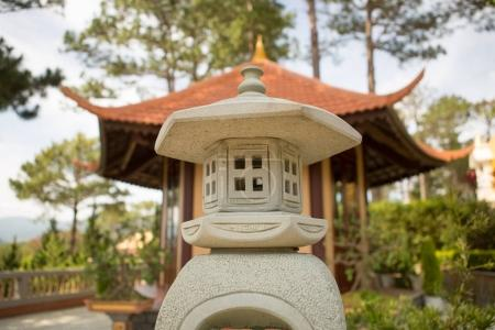 a souvenir in the form of a pagoda