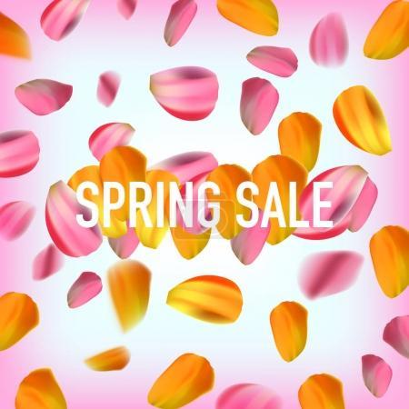 Spring sale discount banner