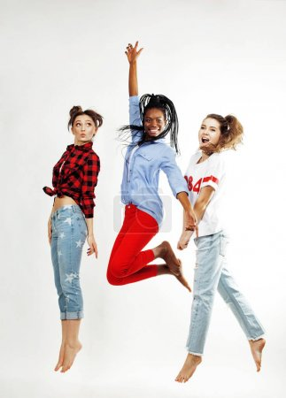 three pretty diverse women