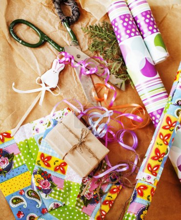 lot of stuff for handmade gifts