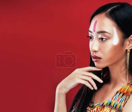beauty young asian girl w