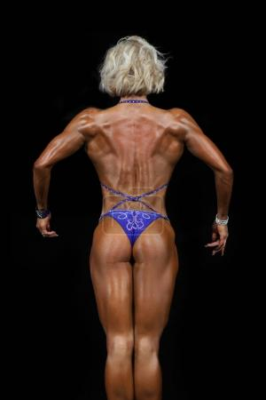 fitness model Athletic young girl