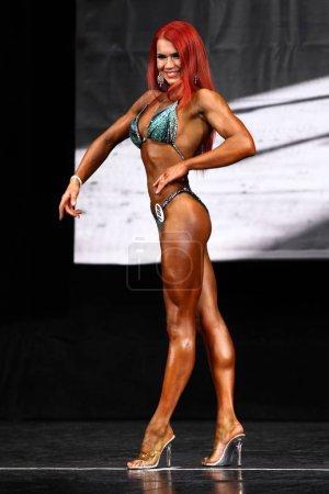 young fitness bikini athlete