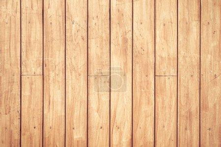 Photo pour Texture de planche de bois peut être utilisé comme fond - image libre de droit