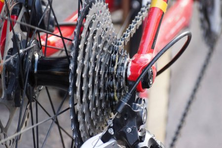 Photo for Bicycle rear cassette with 11 speed - Royalty Free Image