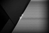 Chrome black and grey background texture vector illustration 017