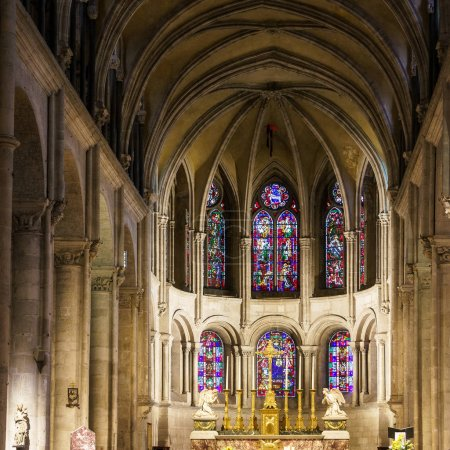 BESANCON/FRANCE - SEPTEMBER 13 : Interior view of the Cathedral