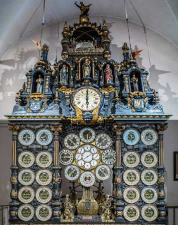 BESANCON/FRANCE - SEPTEMBER 13 : View of the Astronomical Clock