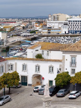 FARO, SOUTHERN ALGARVE/PORTUGAL - MARCH 7 : View from the Cathed