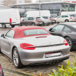 Постер, плакат: Closeup of Porsche cars