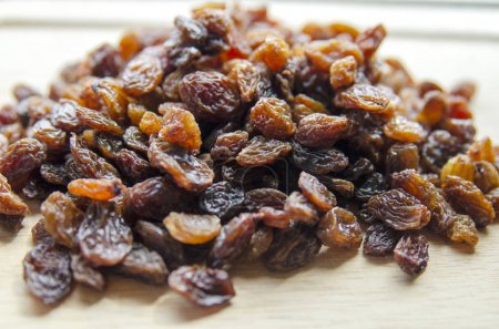 Photo for Dried fruits on wooden background - Royalty Free Image