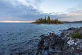 Uninhabited Island In Lake Superior