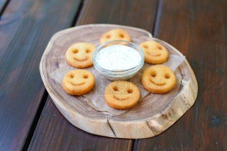Photo pour Sauce sur une table de restaurant - image libre de droit