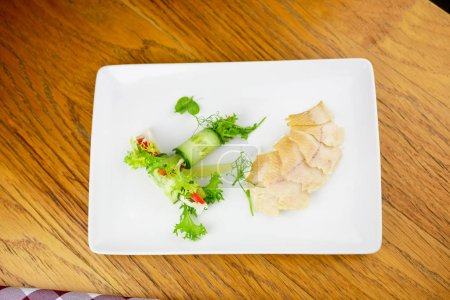 Photo for Seafood on a restaurant table - Royalty Free Image