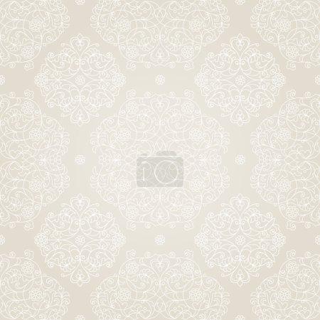 Seamless pattern in Eastern style