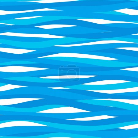 sea pattern with waves.