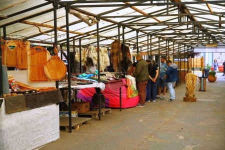 Photo pour Ushuaia, Argentine, marché, foire pour les touristes - image libre de droit