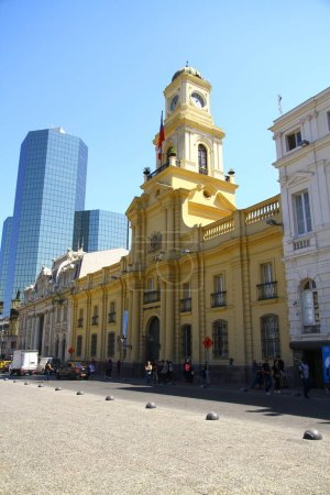 Photo for A view of the National History Museum in Santiago. The galleries take you through the history of Chile from its earliest days to more recent times, Chile - Royalty Free Image