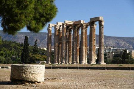 Photo pour Temple de Zeus Olympien, Athènes, Grèce - image libre de droit