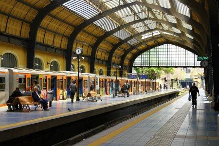 Photo pour Vue de l'ancienne gare de Grèce - image libre de droit