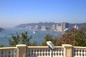 coastal landscape at Rambler Channel in Tsing Yi, Hong Kong